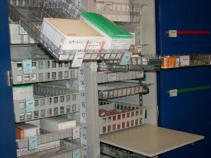 Modulare Krankenhaus Versorgungssysteme RFID
