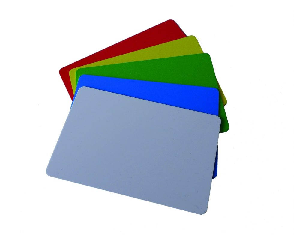 Etiketten Trägerplatte