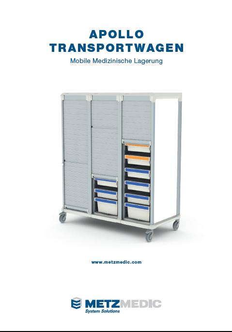 Apollo Transportwagen - Mobile medizinische Lagerung